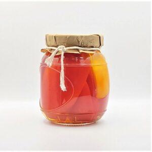 Kolorowa Papryka Konserwowa w szklanym słoiku